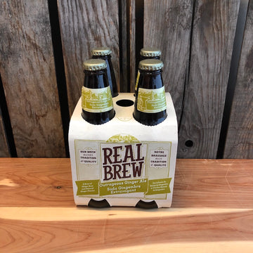 Real Brew - Outrageous Ginger Ale