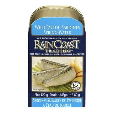 Raincoast - Sardines, Wild Pacific, Spring Water