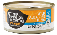 Raincoast - Tuna, Albacore, No Salt Added