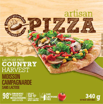 Rocky Mountain Flatbread - Country Harvest (lactose free)