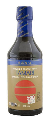 San J - Tamari, Whole Soybean, Wheat Free, Organic (Gold Label) (gluten free)