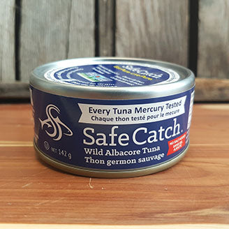 Safe Catch - Tuna - Wild Albacore, No Salt Added