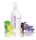 Sapadilla - Liquid Hand Soap, Pure Essential Oil Blends, Sweet Lavender & Lime