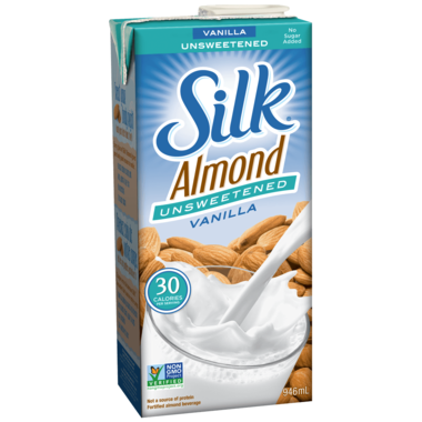 Silk - Almond, Fortified, Unsweetened, Vanilla