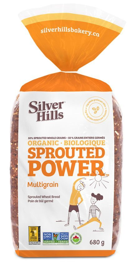 Silver Hills - Sprouted Power Bread, 50% Sprouted Grains, Multigrain