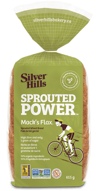 Silver Hills - Sprouted Power Wheat Bread, 100% Sprouted Grains, Mack's Flax (NGM/made w/organic ingredients)