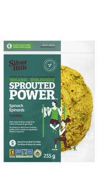Silver Hills - Sprouted Power Tortillas, 50% Sprouted Grains, Spinach