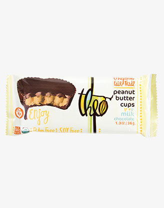 Theo - Peanut Butter Cups, Milk Chocolate