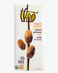 Theo - Chocolate Bar - Salted Almond 45%
