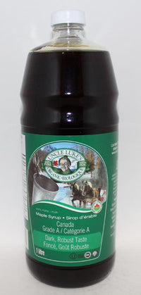 Uncle Luke's - Maple Syrup, Canada Grade A, Dark Robust Taste, Organic