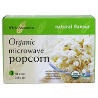 Whole Alternatives - Plain Microwave Popcorn