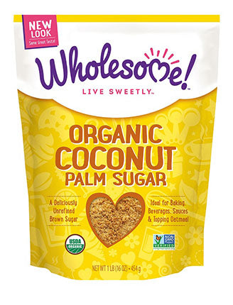 Wholesome Sweeteners - Coconut Palm Sugar