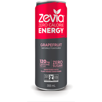 Zevia - Energy, Grapefruit, Stevia Sweetened
