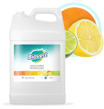 Biovert - Dishwashing Liquid, Citrus Fresh, Large