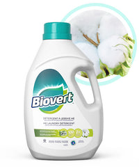 Biovert - Laundry Liquid, Fresh Cotton, HE