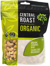Central Roast - Cashews, Raw, Organic