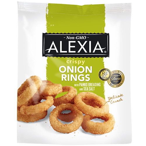 Alexia - Onion Rings, Crispy Golden Onions w/Sea Salt