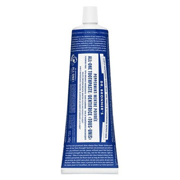 Dr. Bronner's Magic Soap - Peppermint ALL-ONE Toothpaste