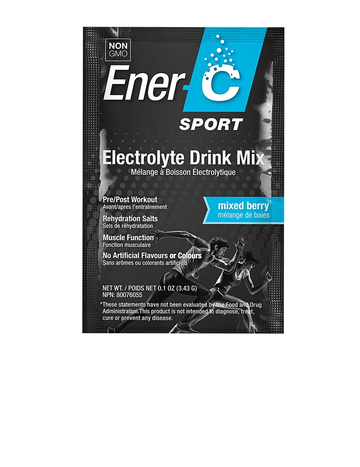 Ener-C - Sport Electrolyte Drink Mix - Mixed Berry