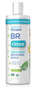 Essential Oxygen - Step 1 Organic Brushing Rinse Peppermint, Large