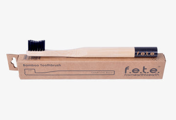 f.e.t.e. - Child Cheeky Charcoal Toothbrush