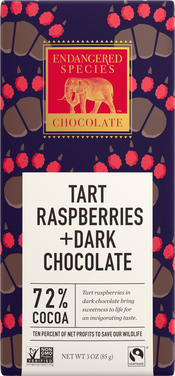 Endangered Species - Chocolate Bar Grizzly - Raspberry