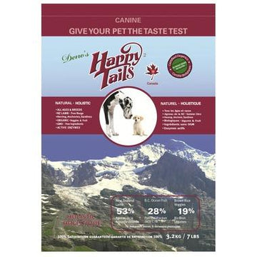 Happy Tails - Dry Food, Lamb, 3.2kg