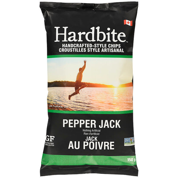 Hardbite - Potato Chips, Pepper Jack