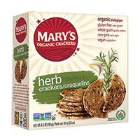 Mary's Organic Crackers - GF Crackers - Herb