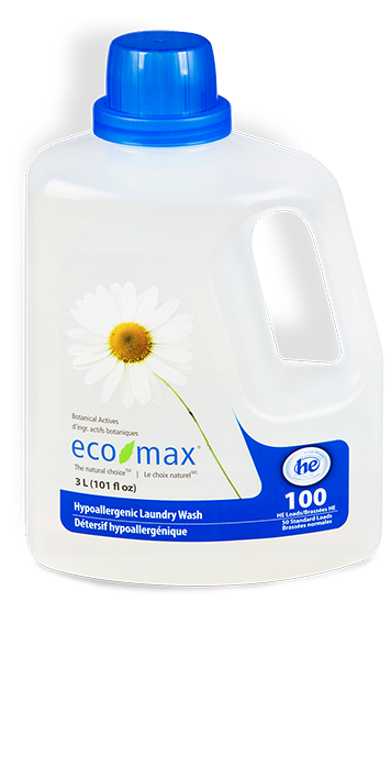 Eco-Max - Laundry Wash, Hypoallergenic, HE, 3L