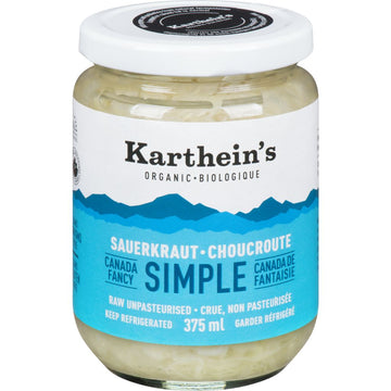 Karthein's Organic - Sauerkraut, Simple, Organic, Small