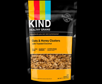 Kind - Healthy Grains, Oats & Honey Clusters w/Toasted Coconut