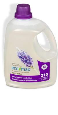 Eco-Max - Laundry Wash, Natural Lavender, HE