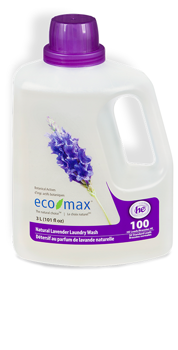 EcoMax - Laundry Wash, Natural Lavender, HE, 3L