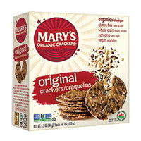 Mary's Organic Crackers - GF Crackers - Original