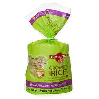 Plum-M-Good - Rice Thins - Sesame