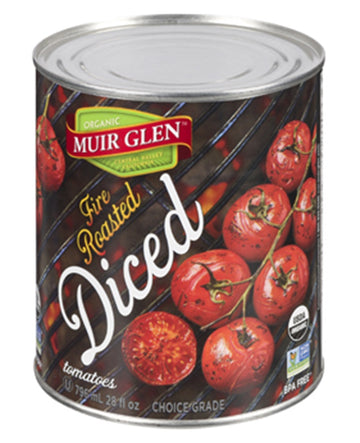 Muir Glen - Fire Roasted Tomatoes - Diced