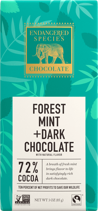 Endangered Species - Chocolate Bar Rainforest - Forest Mint