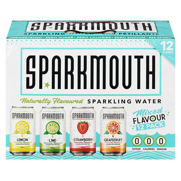 SparkMouth - Sparkling Water, Mixed Pack
