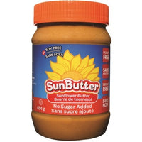 Sunbutter, Sunflower Butter, No Sugar Added