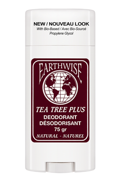 Earthwise/Eco-Wise  Naturals - Tea Tree Plus Deodorant Stick