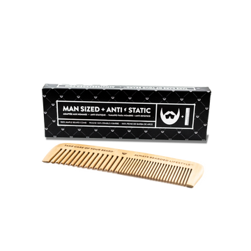 Always Bearded Lifestyle  - Anti-Static Maple Beard Comb