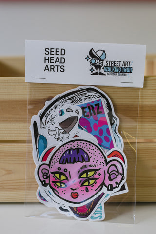 Seedhead Arts Sticker Pack!