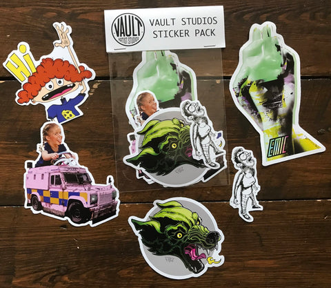 Vault Artist Studios Sticker Packs