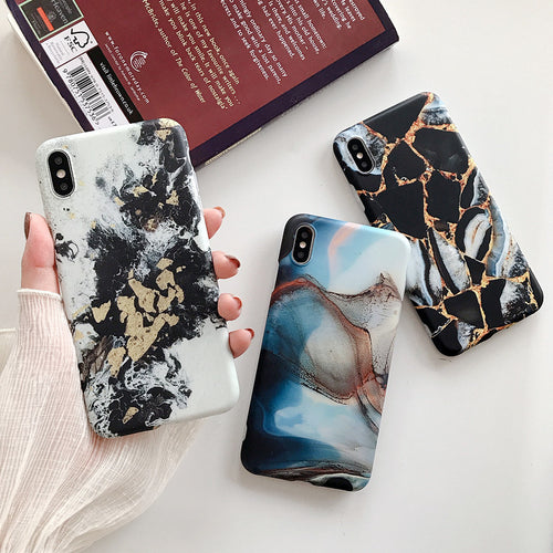 Marble Crush™ Phone Case for IPhone