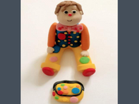 Edible Mr Tumble Cake Topper Decoration