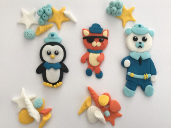 Octonauts cake toppers