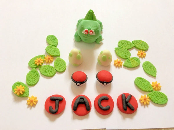 bulbasaur Pokemon cake topper