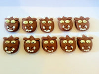 In The Style Of Gruffalo cupcake Decoration Toppers x10
