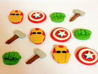 Marvel cake toppers